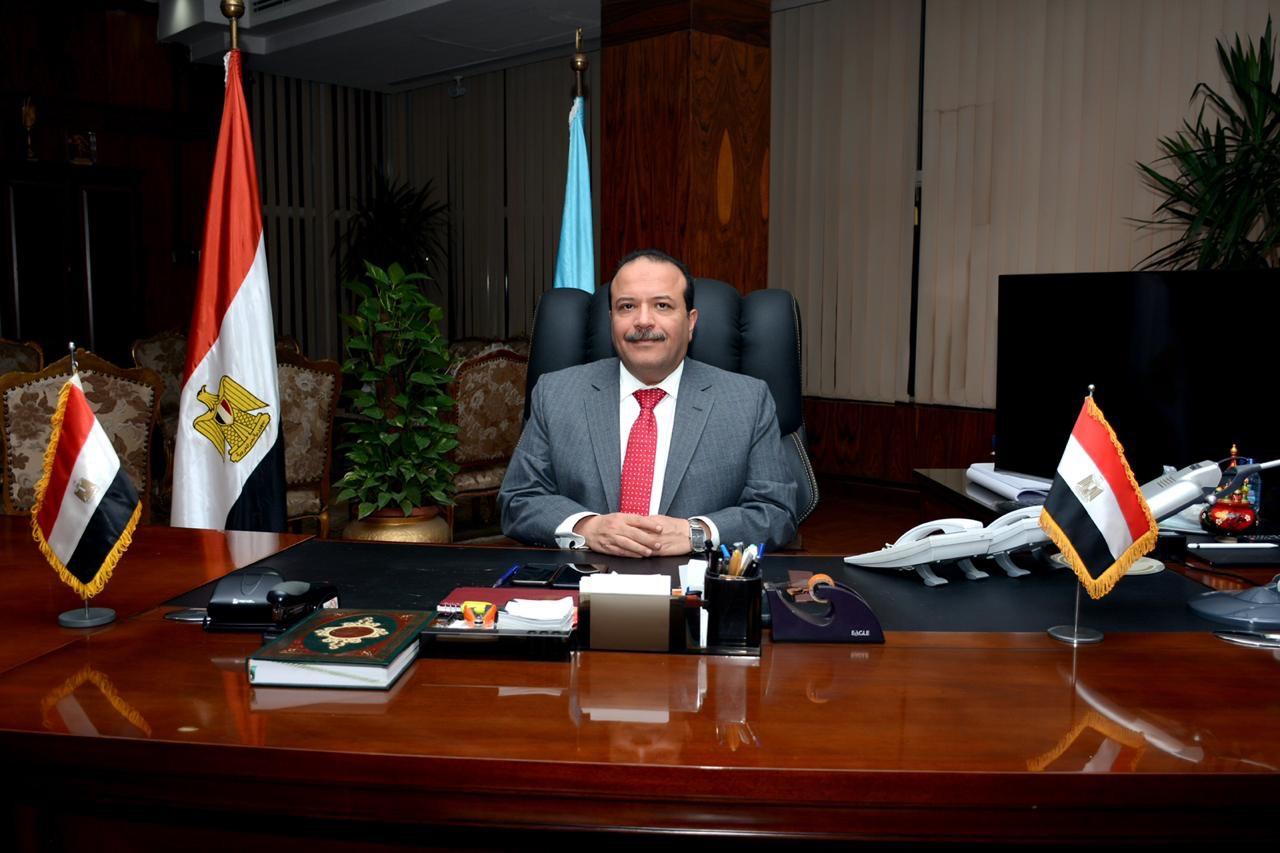 الدكتور مجدي سبع رئيس جامعة طنطا السابق