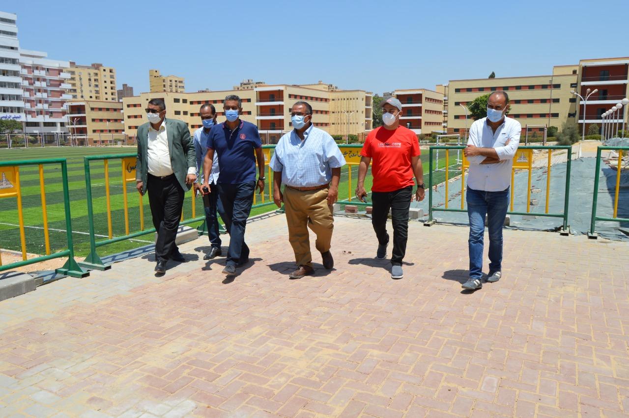 المقر الجديد لمكتب التنسيق في جامعة عين شمس