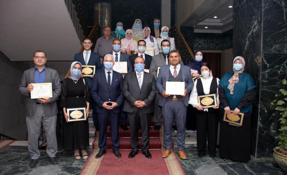 جامعة طنطا تكرم الفائزين بجوائز الجامعة «التقديرية والتشجيعية»