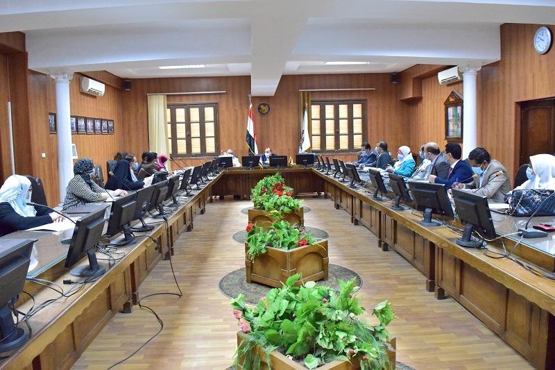 جامعة بني سويف : الجامعة الأهلية الجديدة مشروع قومي ولا تهدف للربح
