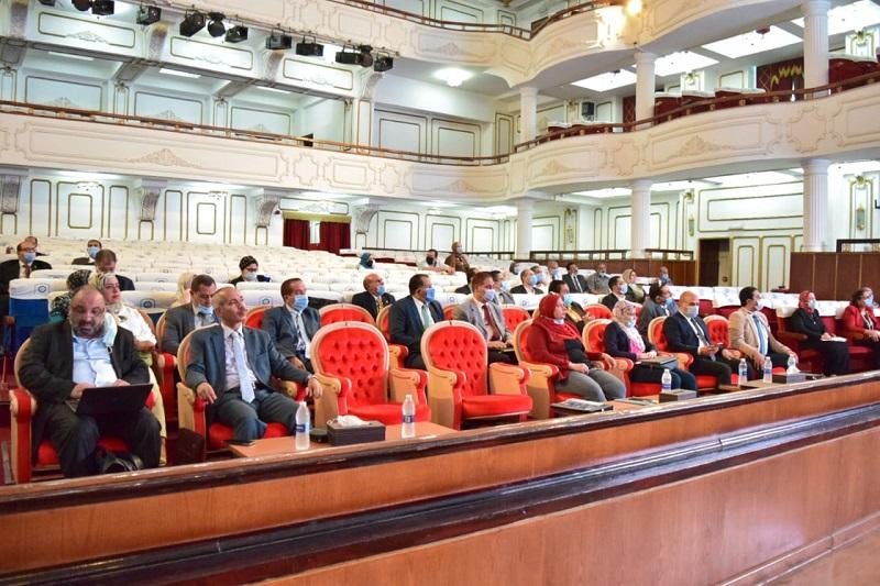 مجلس جامعة بني سويف
