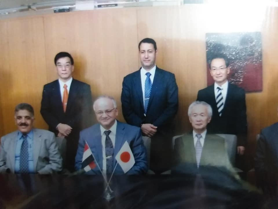 احدى جولات التفاوض مع الجانب اليابانى