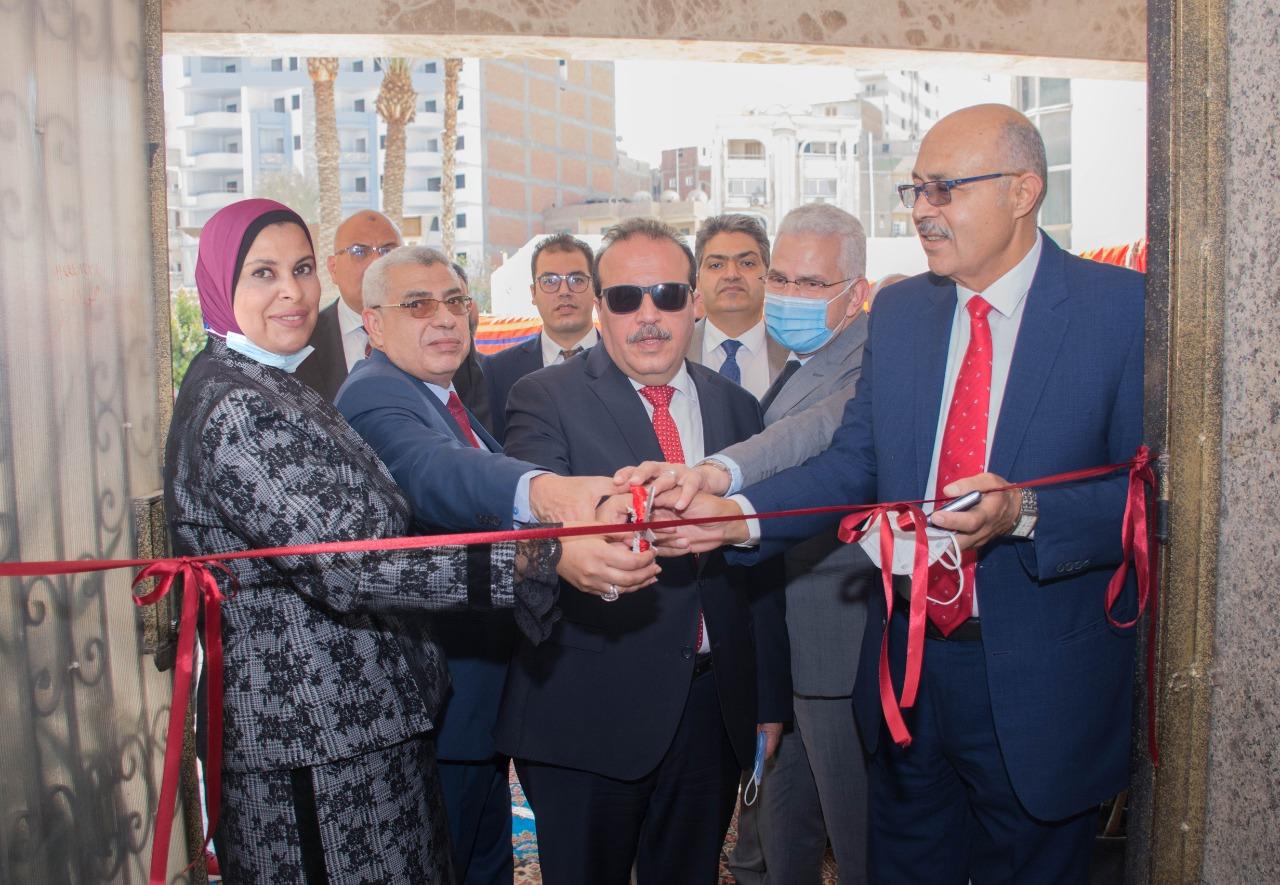 افتتاح مبني كلية طب الأسنان