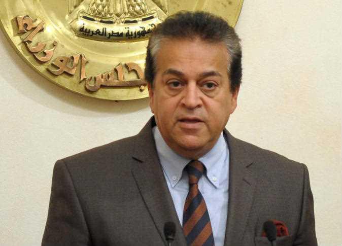 د خالد عبد الغفار وزير التعليم العالى