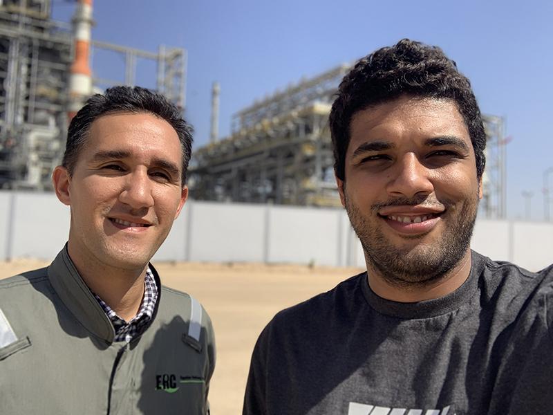 عبد الرحمن منصف وعمرو اسماعيل