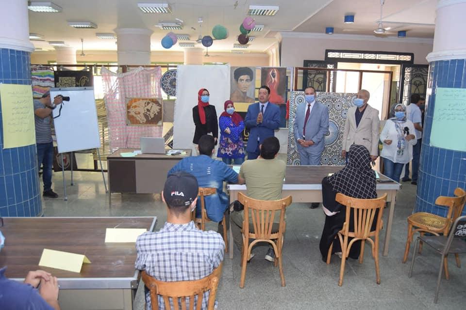 جامعة سوهاج تنظم دورة تدريبية بعنوان «حدد فكرة مشروعك»