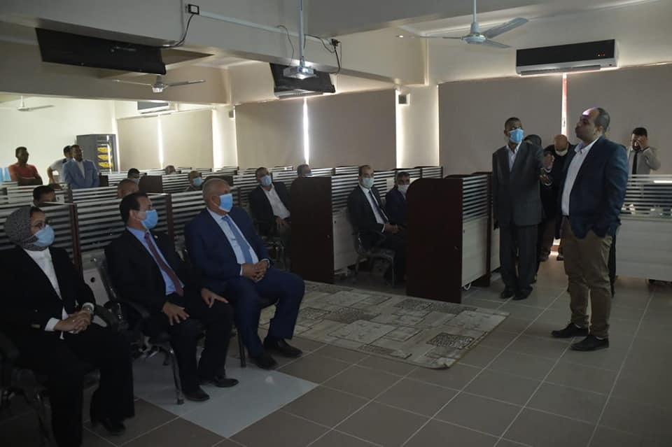 جامعة الوادي الجديد تفتتح مشروعاتها للتحول الرقمي ومراكز دعم التكنولوجيا والابتكار