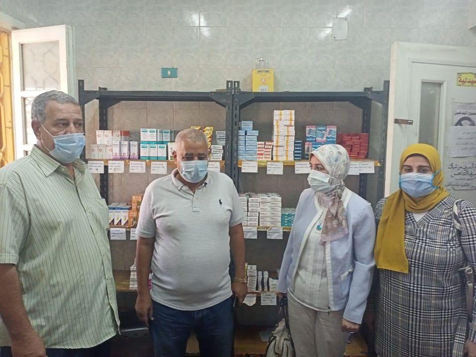 جامعة طنطا: الكشف الطبى على 554 من أهالى قرية برما فى قافلة طببة
