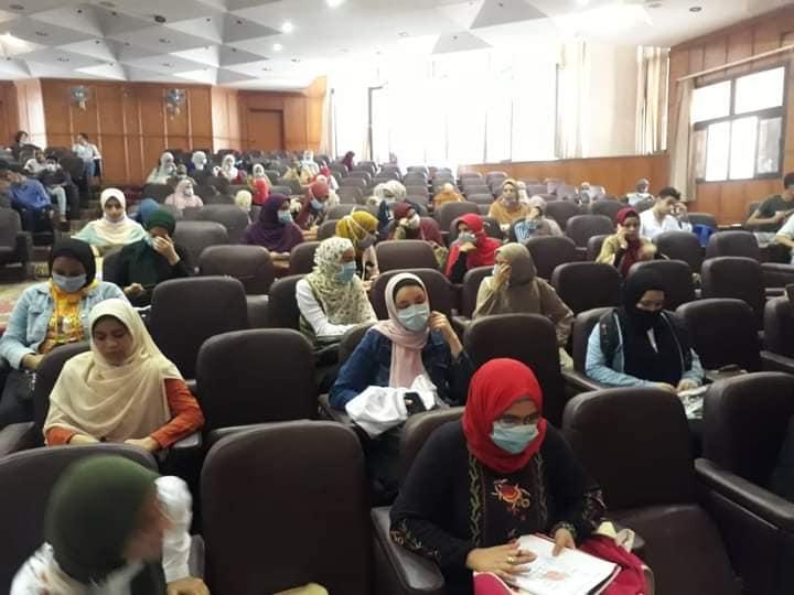 جامعة المنوفية: بدء الدراسة بكلية الطب وسط إجراءات احترازية مشددة