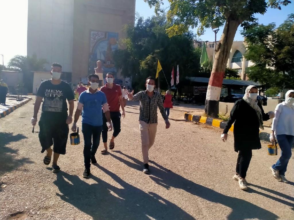 جامعة المنيا تستعد لاستقبال عام دراسي مختلف في ظل جائحة كورونا