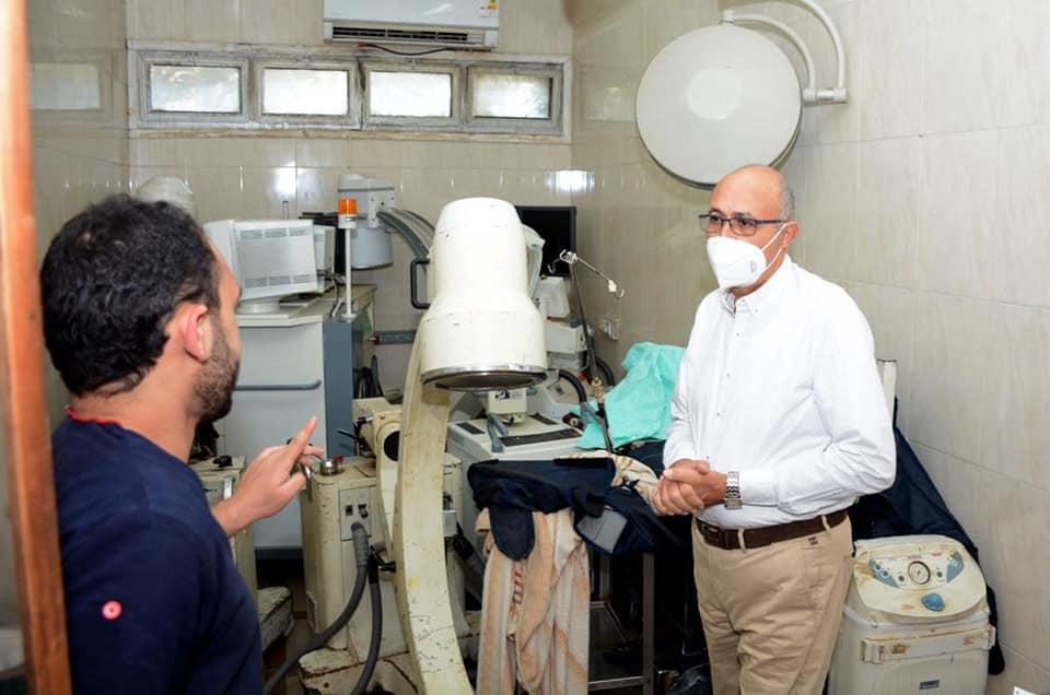 جامعة طنطا: لجنة عاجلة لدراسة السلامة الإنشائية لمستشفى الطوارئ الجامعي