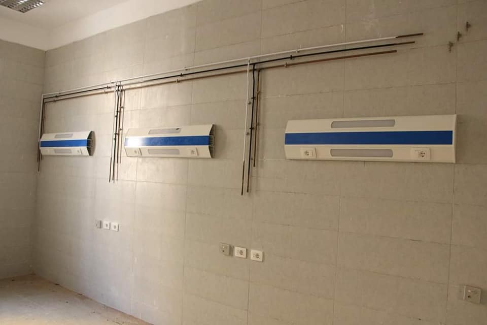 مستشفيات جامعة المنوفية تستعد لتشغيل ٢٣ سرير رعاية مركزة جديد