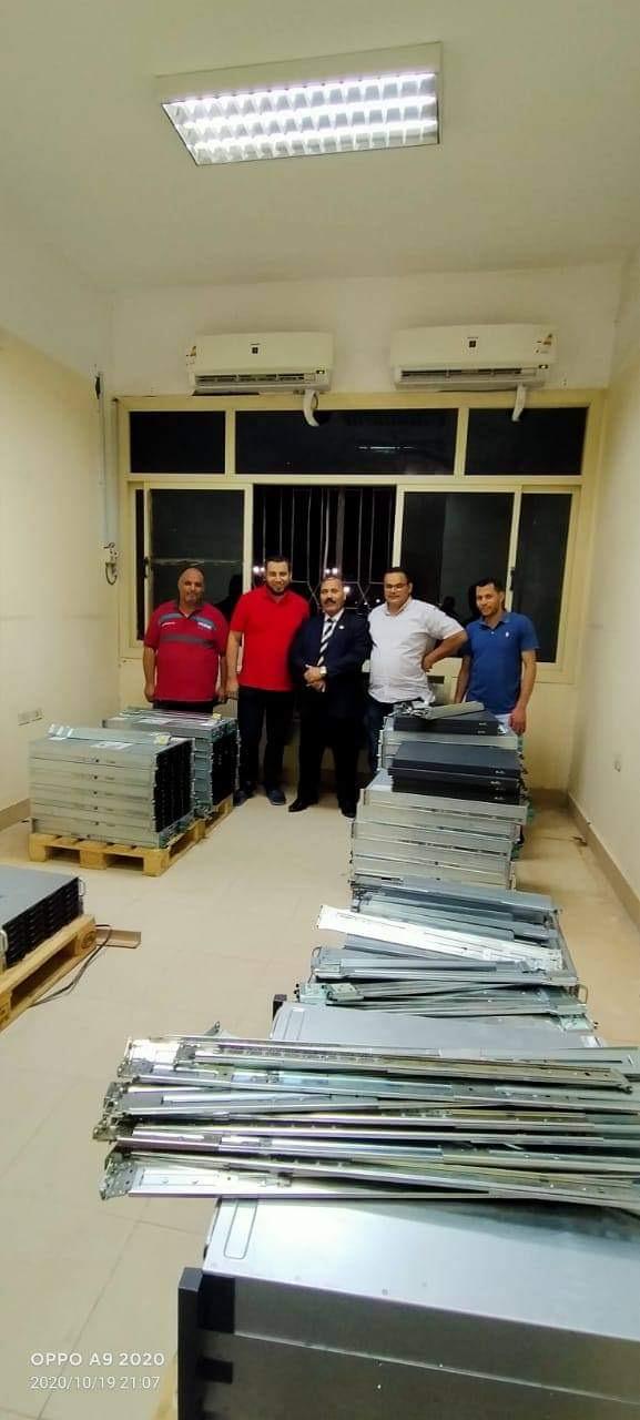 جامعة الفيوم تحصل على جهاز السوبر كمبيوتر المتخصص في تحليل البيانات الكبيرة