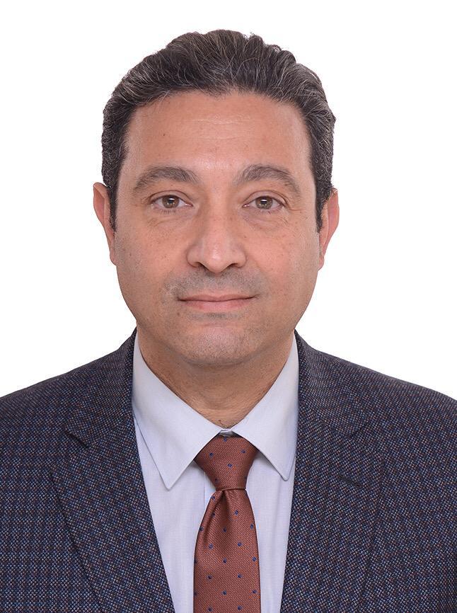 الدكتور أيمن الشهابي عميد كلية الهندسة بشبرا جامعة بنها