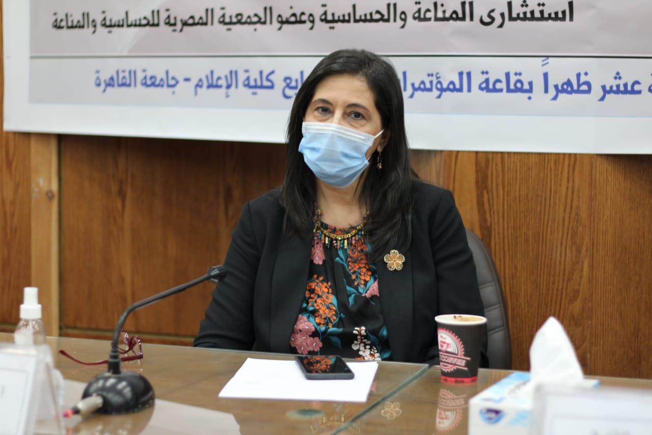 عميدة إعلام القاهرة: حماية أنفسنا تبدأ باتباع الإجراءات الاحترازية وتحمل المسئولية