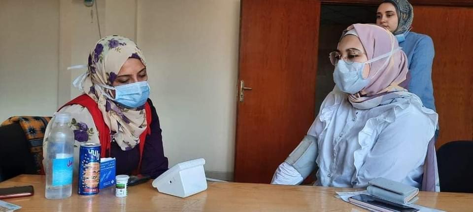 مبادرة 100 مليون صحة في زيارة لصيدلة المنوفية