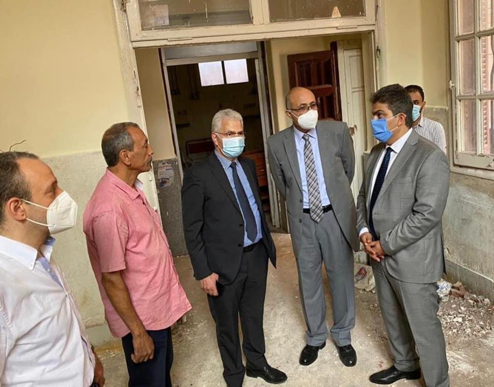 """إجراءات استباقية لمستشفيات جامعة طنطا لمواجهة الموجة الثانية لـ""""كورونا"""""""