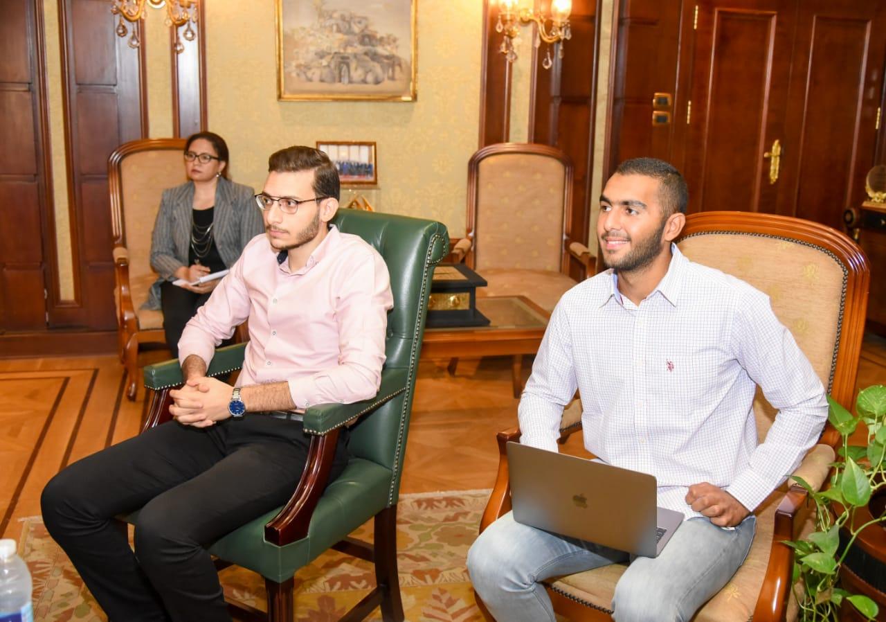 اعضاء مبادرة اتكلم مصرى
