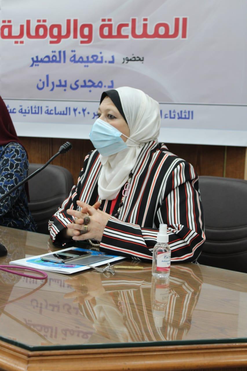 وكيلة إعلام القاهرة: الجامعة تتصدر نظائرها في الاهتمام بالطب الوقائي