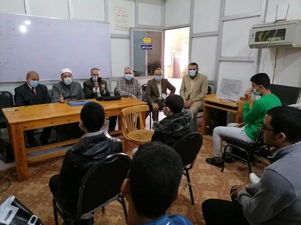 منطقة كفر الشيخ الأزهرية تعقد لقاءات أسبوعية لطلاب معهد العلوم الإسلامية لمراجعة المناهج الدراسية