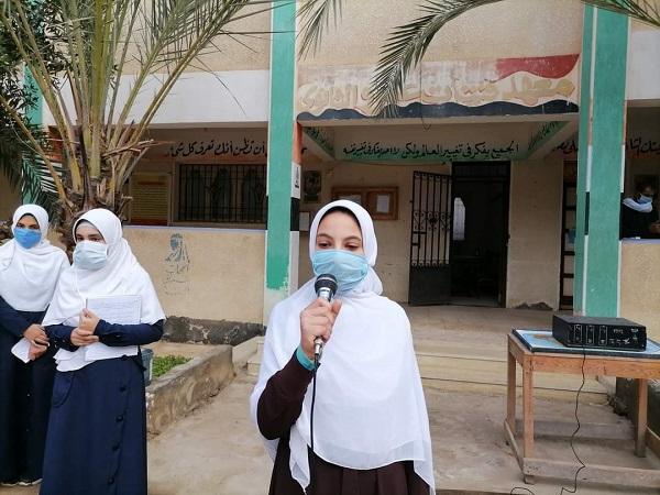 قوافل قطاع المعاهد تجوب منطقة كفر الشيخ لمتابعة سير الدراسة