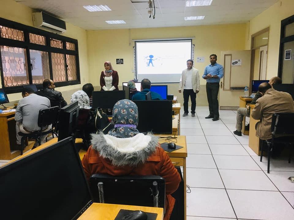 مركز التكنولوجيا عالية الجودة بجامعة الأزهر ينظم ورشة عمل حول الحوسبة السحابية للطلاب