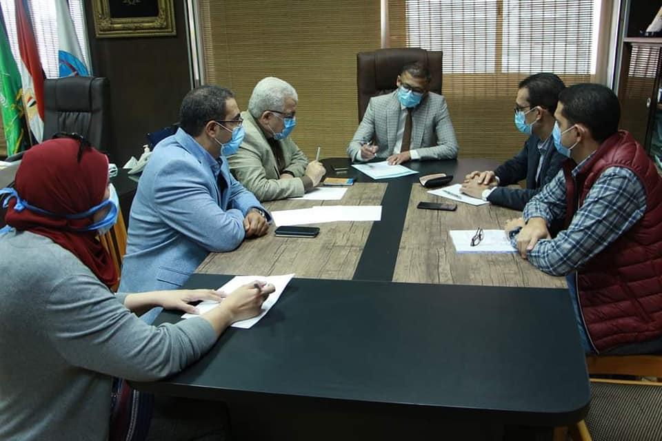 مستشفيات جامعة المنوفية: خطة للتعامل مع أى ظرف طارئ خلال الفترة القادمة