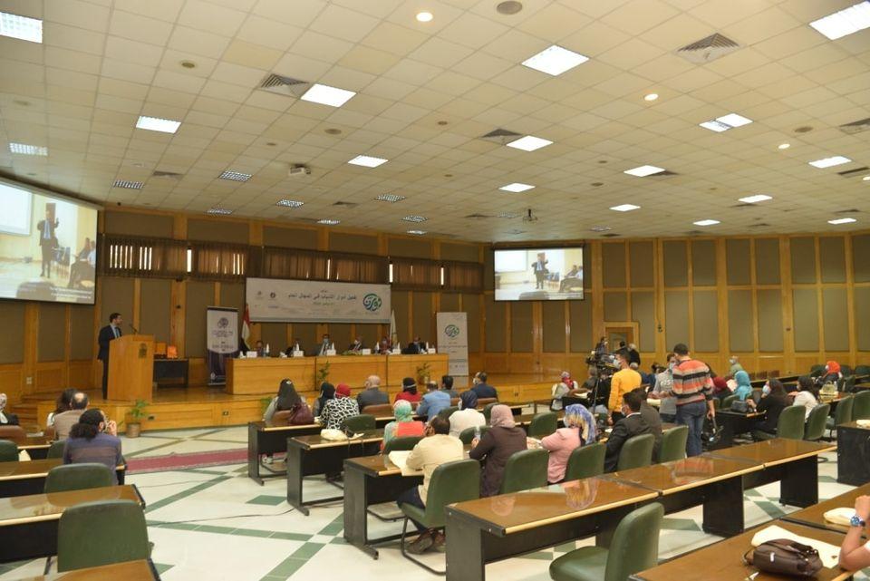 """جامعة أسيوط تطلق وقائع مؤتمر كلية التجارة حول """"تفعيل أدوار الشباب فى المجال العام"""""""