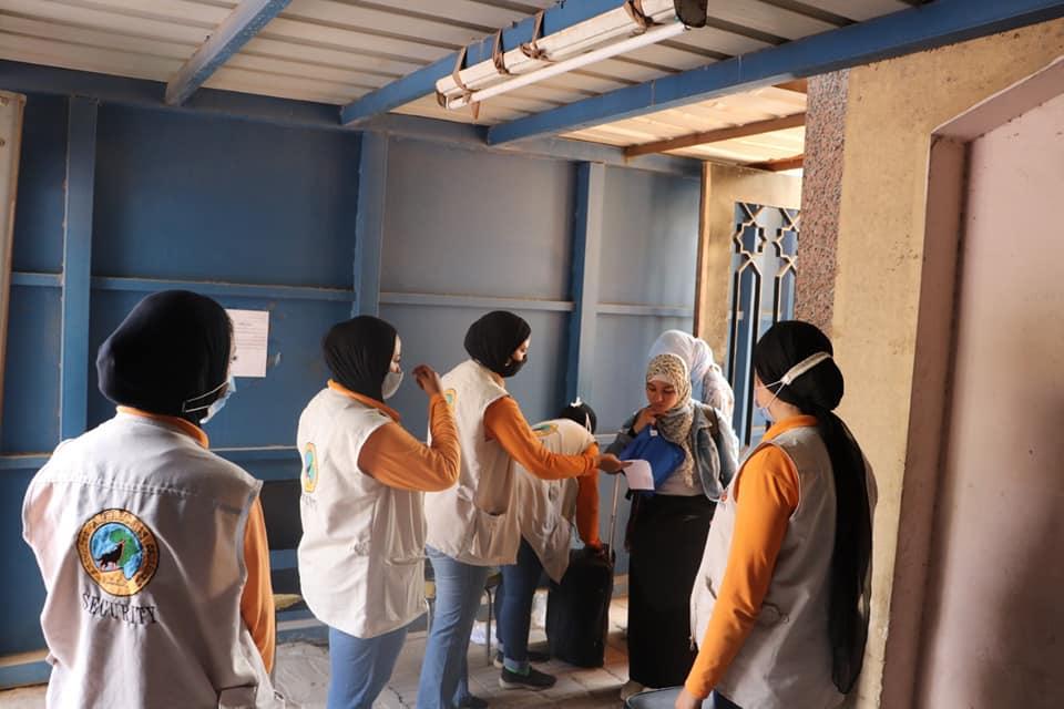 تسكين المتأخرات عن السكن بالمدن الجامعية بجامعة الأزهر وسط إجراءات احترازية