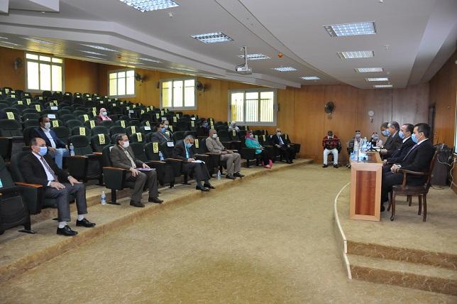 جامعة كفرالشيخ: تطبيق الإجراءات الاحترازية في الكليات والوحدات والمستشفيات