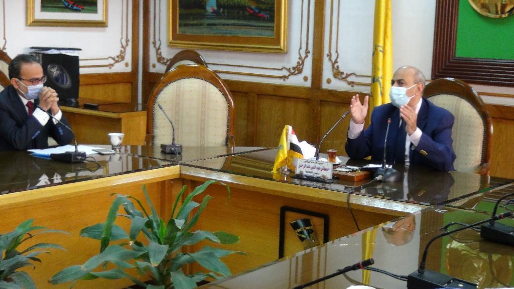 جامعة المنيا تعلن عدد من القرارات استعدادًا للموجة الثانية لـ«كورونا»
