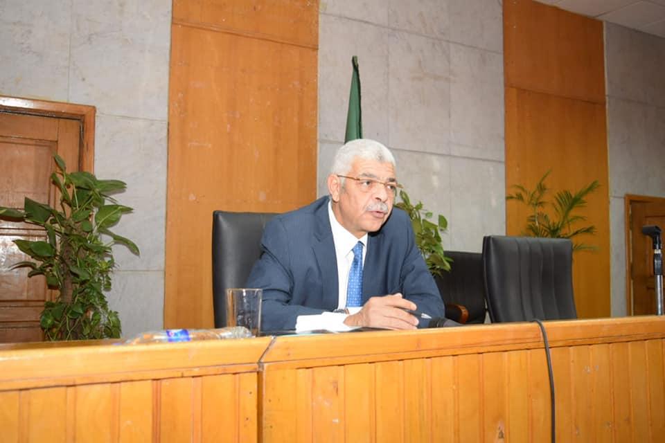 جامعة المنوفية تناقش خطة البحث العلمي