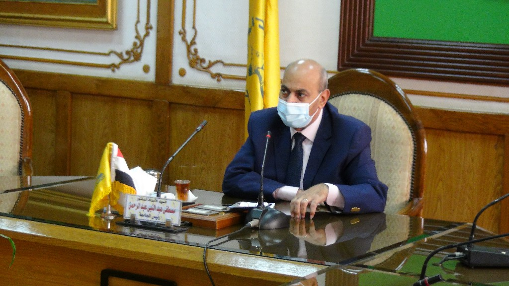قرارات هامة تصدرها اللجنة العليا لإدارة أزمة كورنا بجامعة المنيا