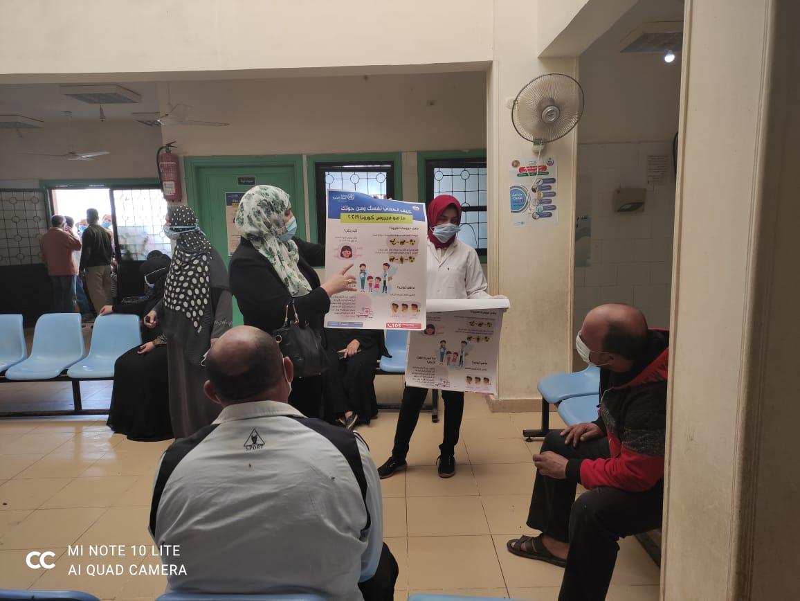 جامعة كفرالشيخ تطلق قافلة طبية متكاملة لقرية برج مغيزل