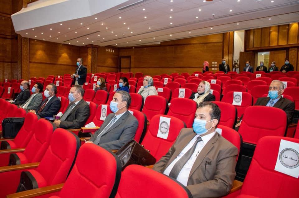 اجتماع المجلس الأعلى لشئون الدراسات العليا بجامعة طنطا