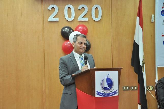 حفل استقبال الطلاب الجدد بكلية التجارة جامعة كفرالشيخ