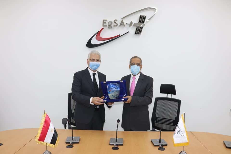 بروتوكول تعاون بين وكالة الفضاء المصرية وجامعة طنطا