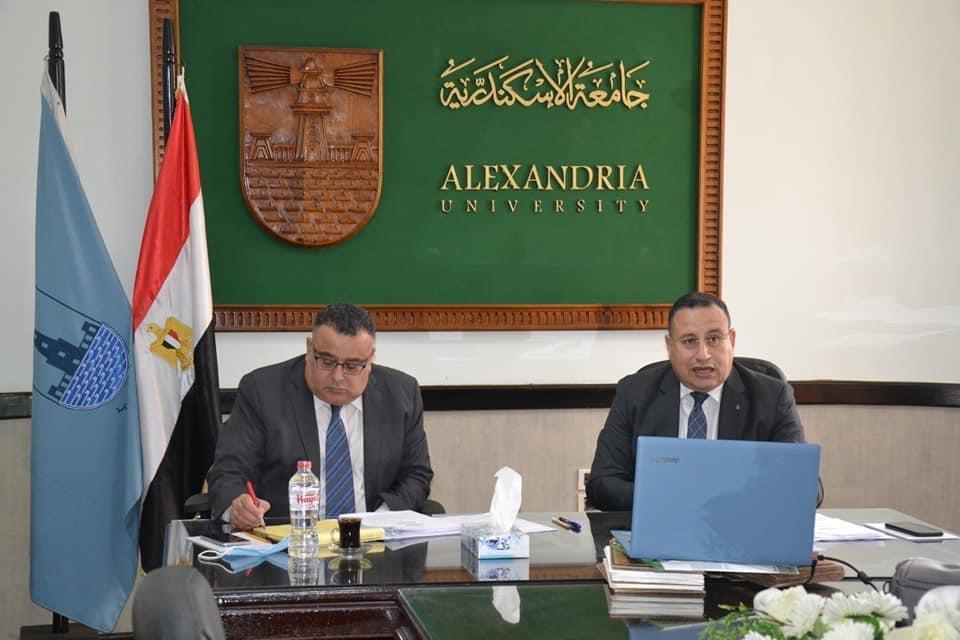 رئيس جامعة الإسكندرية: إنطلاقة في قارة أفريقيا وإستحداث درجات علمية مشتركة