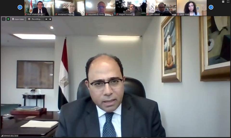 السفير احمد ابو زيد سفيرنا فى كندا