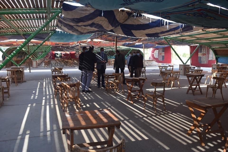 بالخيم.. جامعة سوهاج تستعد لامتحانات الفصل الدراسي الأول