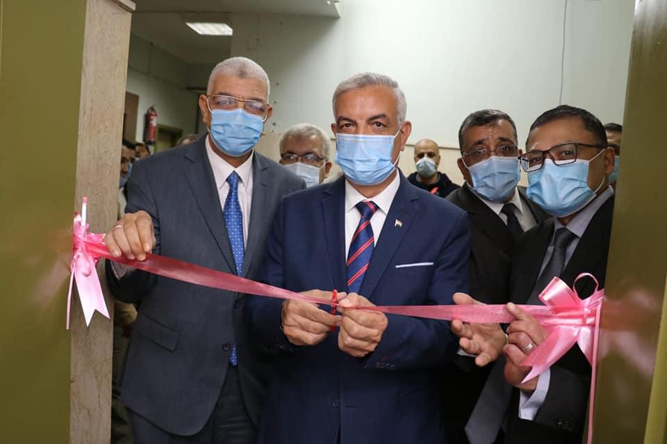 رئيس جامعة المنوفية يفتتح أحدث وحدة أشعة مقطعية متعددة المقاطع