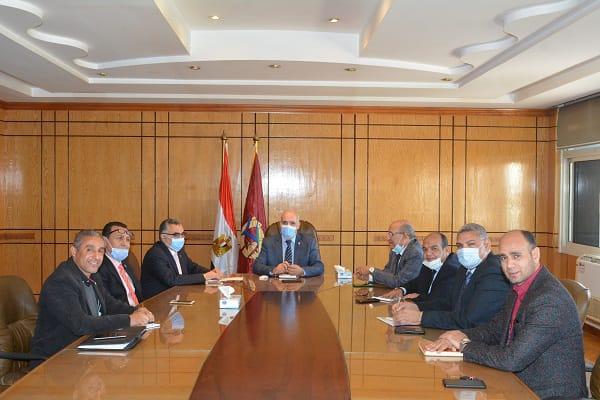 جامعة الفيوم: انعقاد لجنة الملتقى الطلابي الأول لشباب الجامعات الحكومية والعسكرية