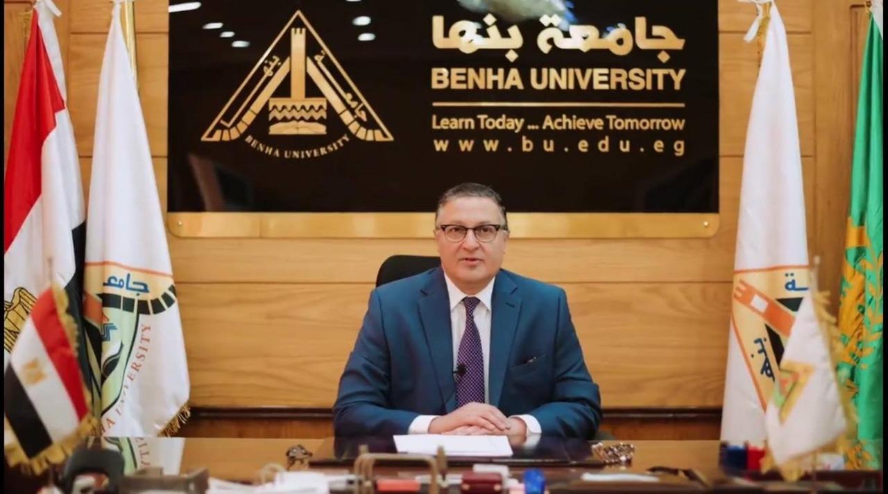 الدكتور جمال السعيد رئيس جامعة بنها السابق