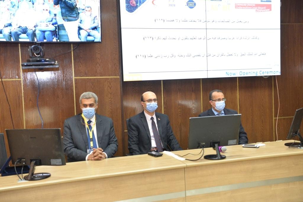 جامعة أسيوط تناقش تشخيص وعلاج أمراض القلب في ظل جائحة كورونا