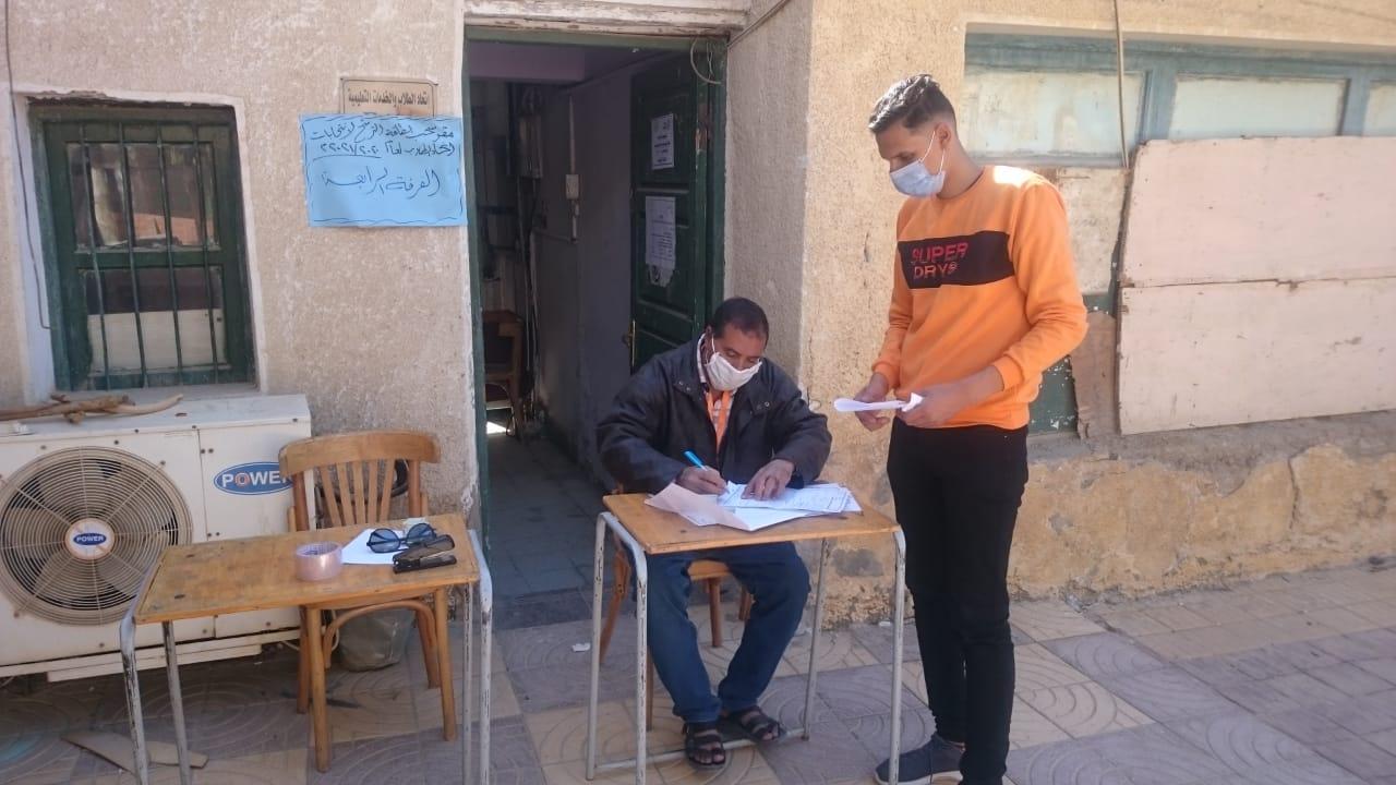 جامعة الوادي الجديد تستكمل الانتخابات الطلابية وسط إجراءات احترازية