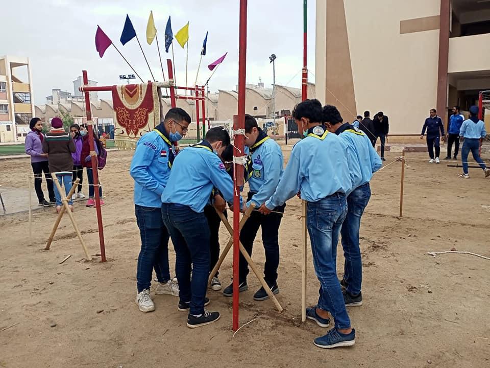 تعليم دمياط يشارك في مسابقة التقييم الكشفي على مستوى الجمهورية