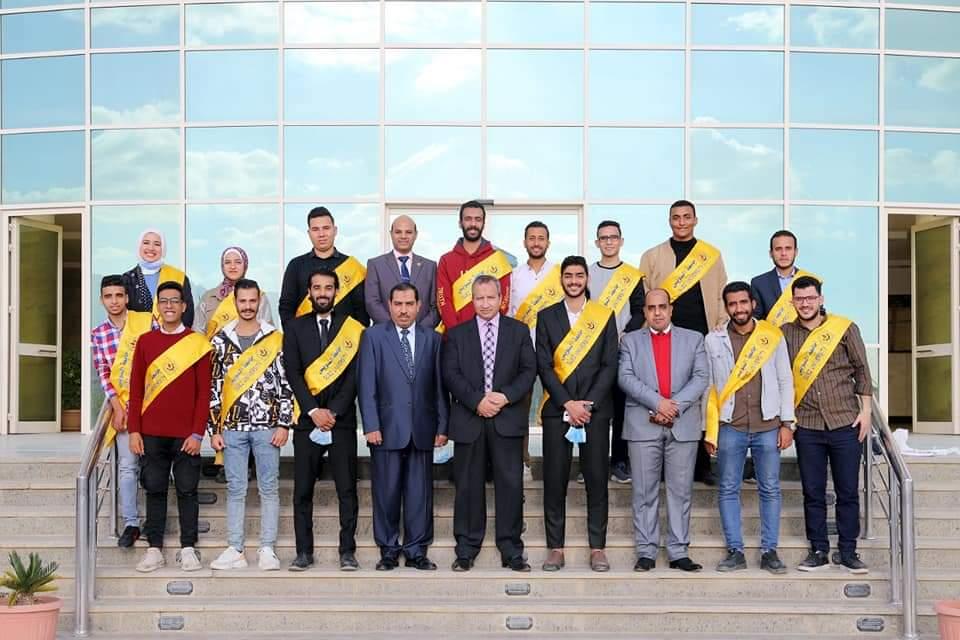 عمار وحيد رئيسا لاتحاد طلاب جامعة السويس