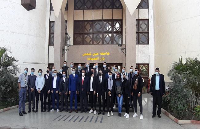 محمد عبدالحميد لاشين رئيسا لاتحاد طلاب جامعة عين شمس
