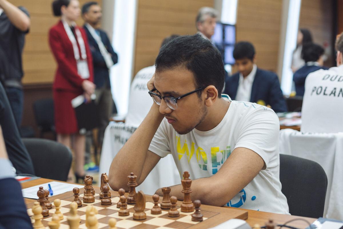 أدهم فوزي يحصد ذهبية بطولة أفريقيا للجامعات للشطرنج