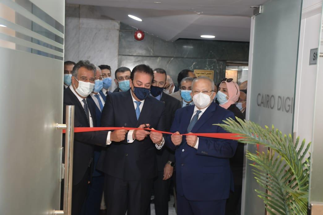 جامعة القاهرة تفتتح أول مركز تميز علمي إقليمي في مجال طب الأسنان الرقمي